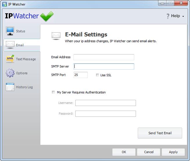 screenshot of IP Watcher