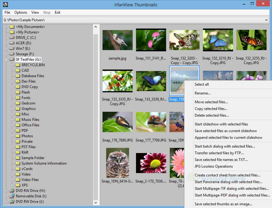 IrfanView - image viewer with many advanced features