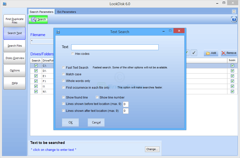 screenshot of LookDisk