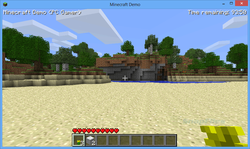 screenshot of Minecraft