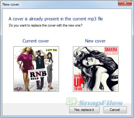 screenshot of Creevity Mp3 Cover Downloader