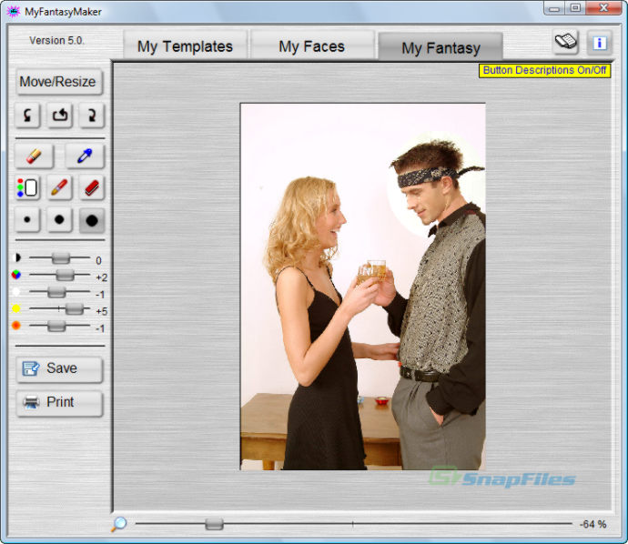 my fantasy maker screenshots