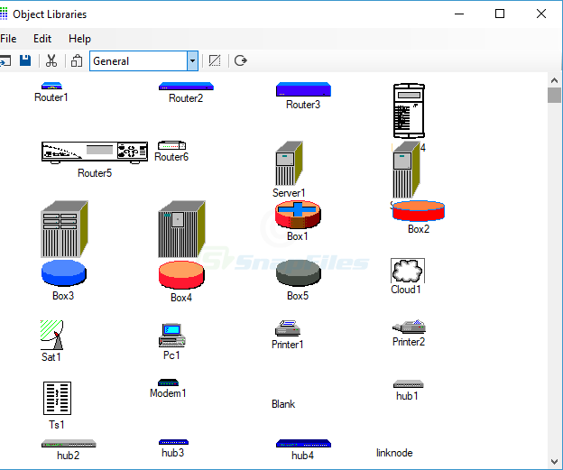 screenshot of Network Notepad