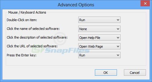 screenshot of NirLauncher