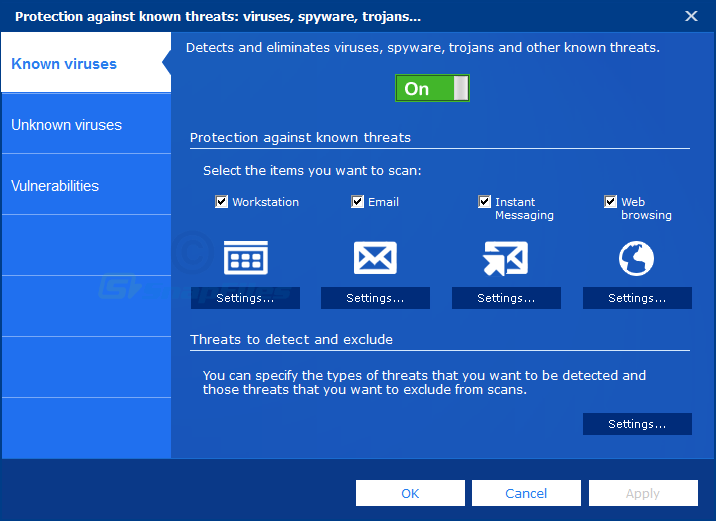 screenshot of Panda Antivirus Pro
