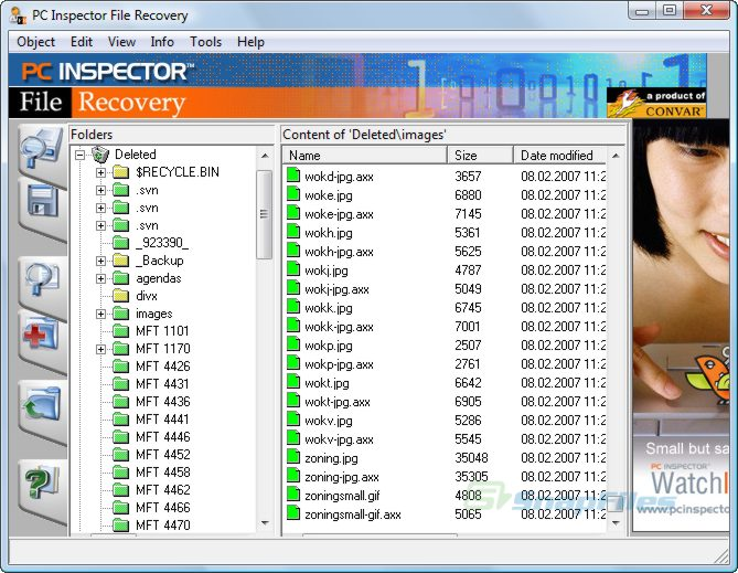 pc inspector file recovery software free download