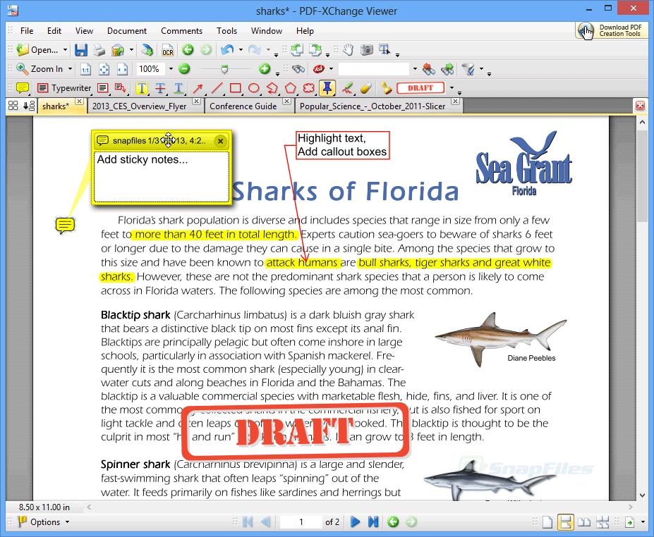 Free PDF Tools - SnapFiles