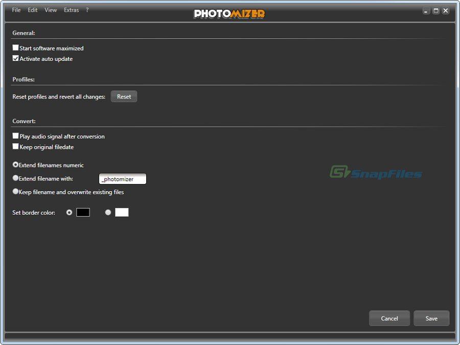screenshot of Photomizer