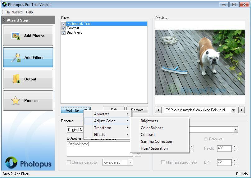 screenshot of Photopus Pro