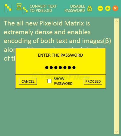 screenshot of Pixeloid