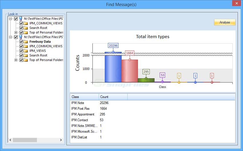 screenshot of Kernel Outlook PST Viewer