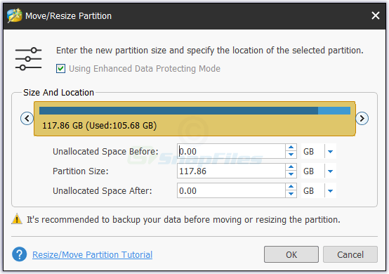 screenshot of MiniTool Partition Wizard Free