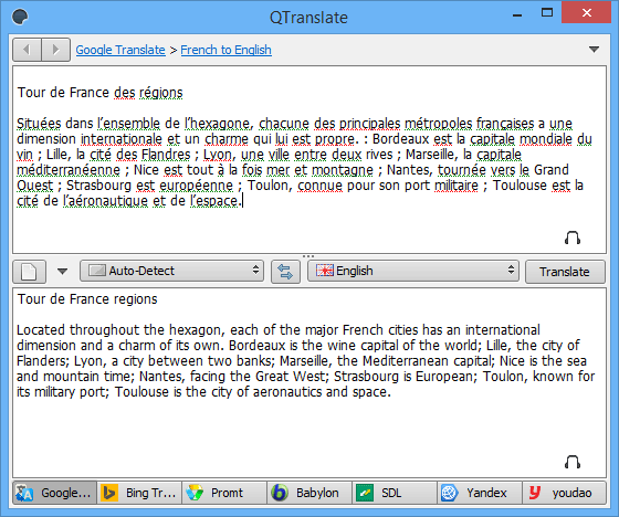 Free to try Dictionary and Translation - SnapFiles