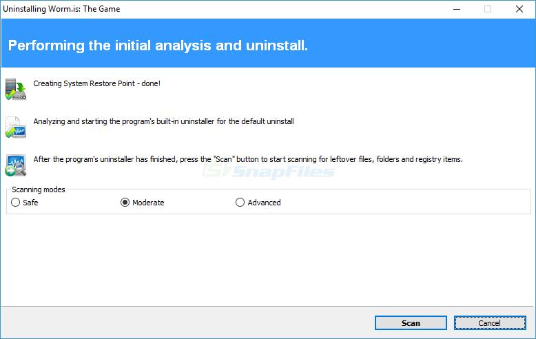 screenshot of Revo Uninstaller