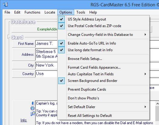 screenshot of RGS-CardMaster