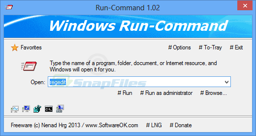 screen capture of Run-Command