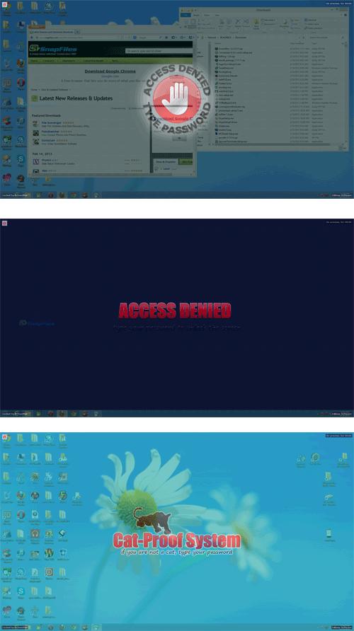screenshot of ScreenBlur