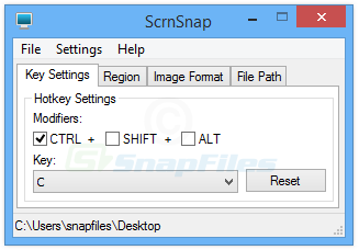 screen capture of ScrnSnap