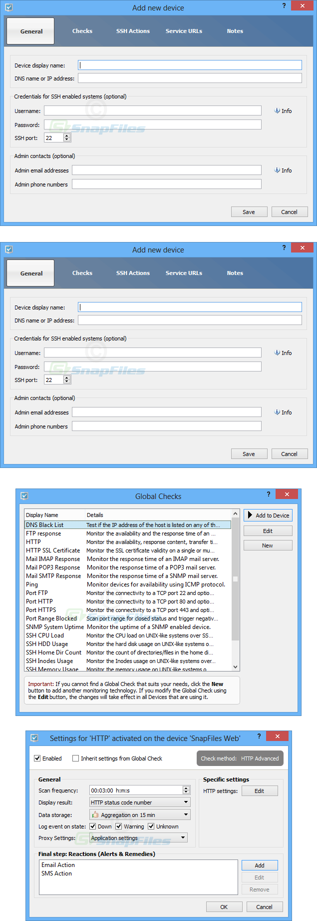 screenshot of ServersMaster