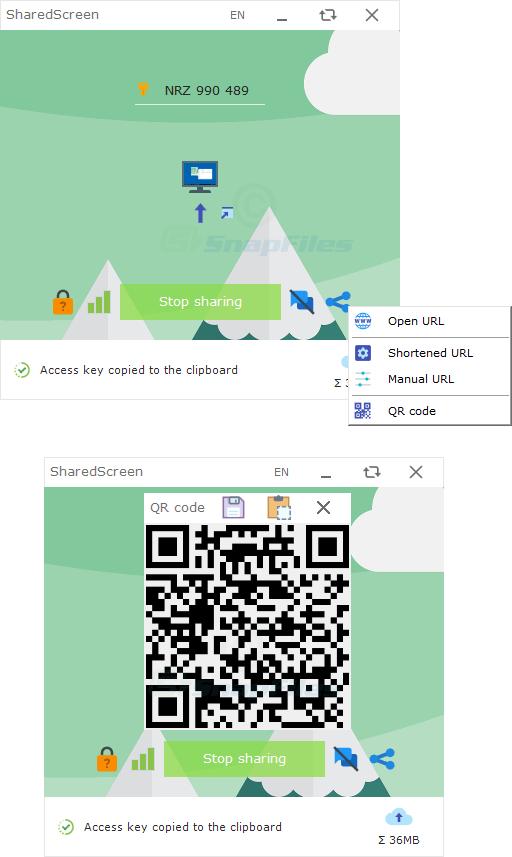 screenshot of SharedScreen