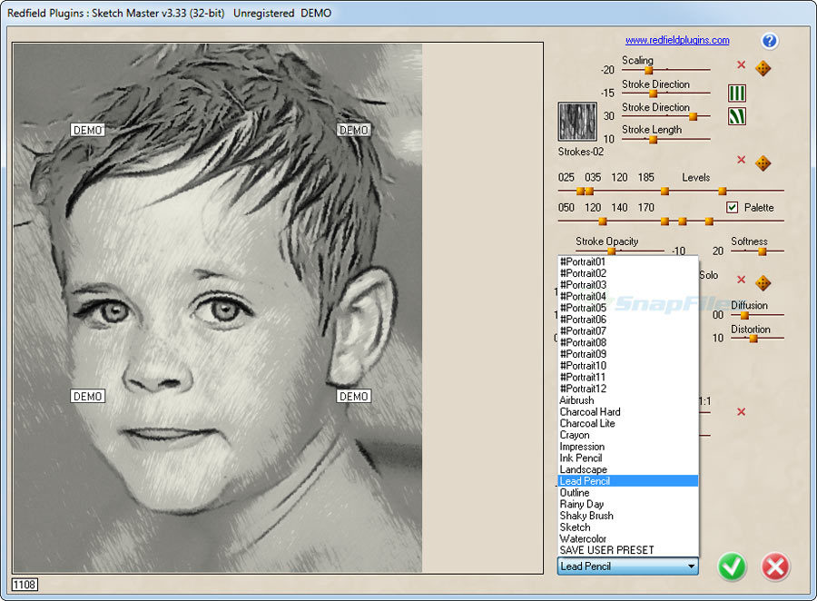 screenshot of Sketch Master