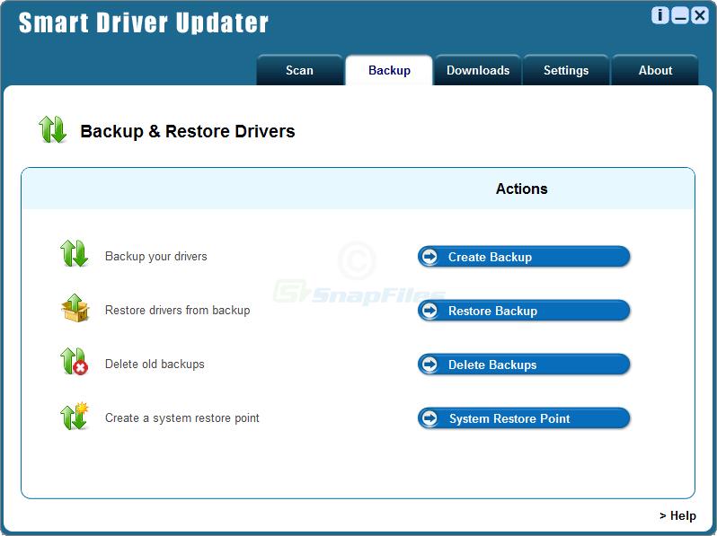 screenshot of Smart Driver Updater