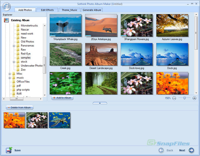 how to create an online photo album