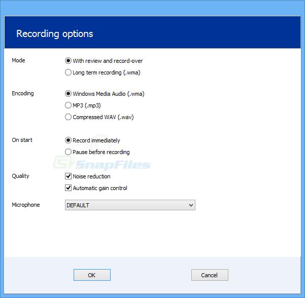 screenshot of Speak-A-Message