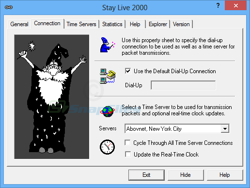 screenshot of Stay Live 2000
