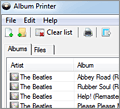 Album Printer screenshot
