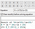Alternate Math Solver screenshot