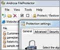Androsa FileProtector screenshot