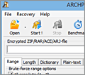 Advanced Archive Password Recovery screenshot