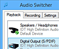 Audio Switcher screenshot