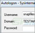 Autologon screenshot