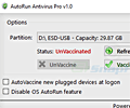 AutoRun Antivirus Pro screenshot