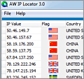 AW IP Locator screenshot