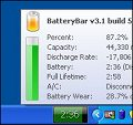 BatteryBar screenshot