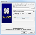 BurnCDCC screenshot