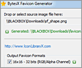 BytesX Favicon Generator screenshot