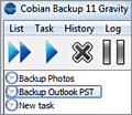 Cobian Backup screenshot