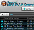 Daniusoft MP3 WAV Converter screenshot