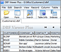 DBF Viewer Plus screenshot