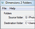Dimensions 2 Folders screenshot