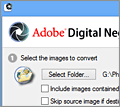 Adobe DNG Converter screenshot