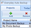 Everyday Auto Backup screenshot