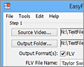 EasyFLV Web Video Encoder screenshot