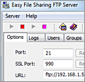 Easy File Sharing FTP Server screenshot