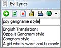 EvilLyrics screenshot