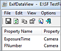 ExifDataView screenshot